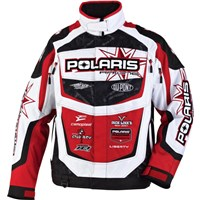 FXR For Polaris® Race Team Replica Jacket, Race Print
