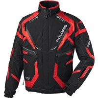 Black/Red FXR For Polaris® Premium Jacket