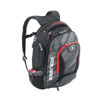 Ogio for Polaris Bandit Backpack Subtle Stripe - Black/Red