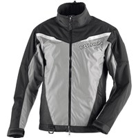 Mens Black X-Over Snowmobile Jacket