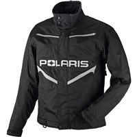 Mens Black Throttle Snowmobile Jacket