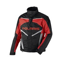 Mens Red Throttle Jacket