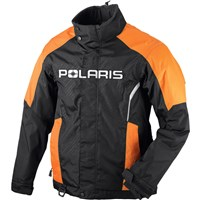 Mens Orange  Ripper Jacket