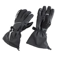 Black Adventure Gloves - Black