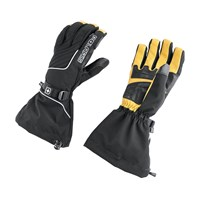 Black Advocate II Gloves - Black/Yellow