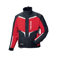 Mens Adventure Jacket- Red Carbon