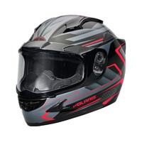 Cyclone 2.0 Helmet- Gloss Red W/ES