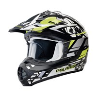 Tenacity Helmet- Black/Lime Gloss