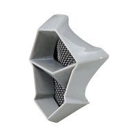 FLY F2 Mouth Piece- Gray Fractal