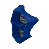FLY F2 Mouth Piece- Blue Fractal