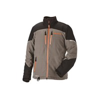 Mens Adventure Pro Jacket - Gray/Orange