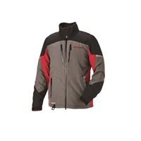 Mens Adventure Pro Jacket - Gray/Red
