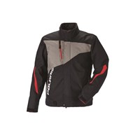 Mens Throttle Jacket - Black/Gray