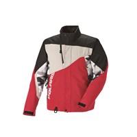 Mens Throttle Jacket - Red Print