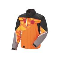 Mens Throttle Jacket - Orange Print