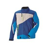 Mens Throttle Jacket - Blue/Gray