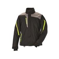 Mens Ripper Jacket - Black/Lime