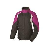 Womens Throttle Jacket - Black/Pink