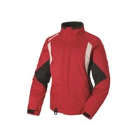 Womens Throttle Jacket - Red/Gray