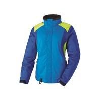 Womens Throttle Jacket - Blue/Lime