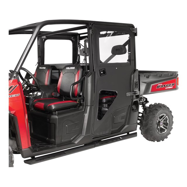 crew canvas rear doors by polaris 2017 polaris ranger crew xp 1000. Black Bedroom Furniture Sets. Home Design Ideas