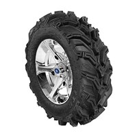 VADER 14 LUSTER RIM WITH ITP MUD LITE XTR TIRE KIT