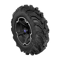 VADER 14 BLACK RIM WITH ITP MUD LITE XTR TIRE KIT