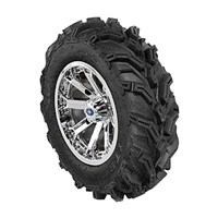 WREC 14 LUSTER RIM WITH ITP MUD LITE XTR TIRE KIT