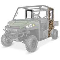 Lock & Ride® Pro Fit Camo Crew Poly Doors Fixed Poly Windows
