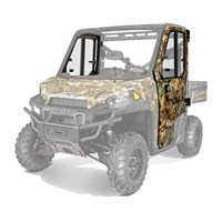 Lock & Ride® Pro Fit Camo Poly Doors w/ Hinged Glass Windows