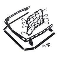 Rack and Net Kit for Rear Cargo Box - Black