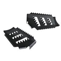 Front Footrest - Black