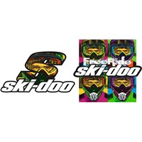 Ski-Doo POP Sticker Series