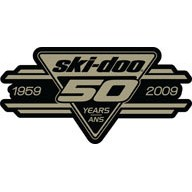 50th anniversary Ski-Doo Kit