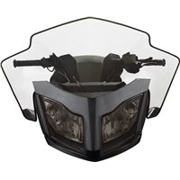 Sport Performance Flared Windshield - Smoke