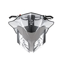 Sport Performance Flared Windshield - Medium - Smoke