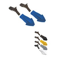 Body Panel Attachment Kit, Blue