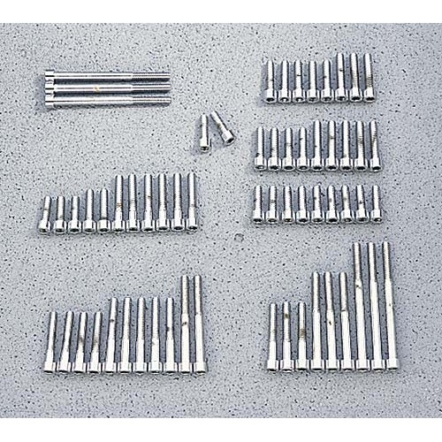 Chrome Engine Bolt Kit