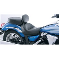 V Star 1300 Driver Backrest Wide Touring Seat by Mustang®