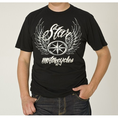 Star wings t shirt by silver star casting company for All star t shirts