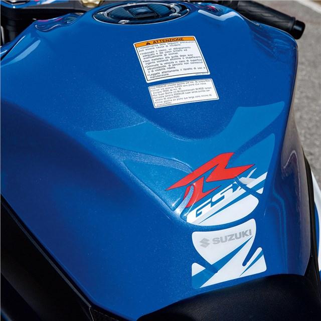 Blue Gsx-R Tank Pad