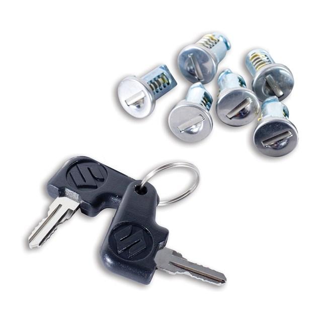 6 Piece Lock Set