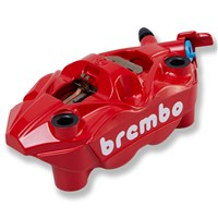 Brembo Right Front Brake Caliper, Red