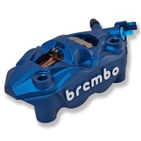 Brembo Left Front Brake Caliper, Blue