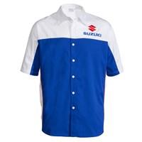 Blue/White Pit Shirt