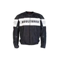Boulevard Mesh Jacket Black