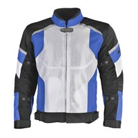 Direct Air Jacket White/Blue