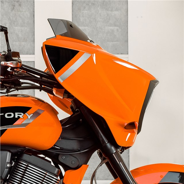 Cross Country Boomerang Windscreen By Victory Motorcycles