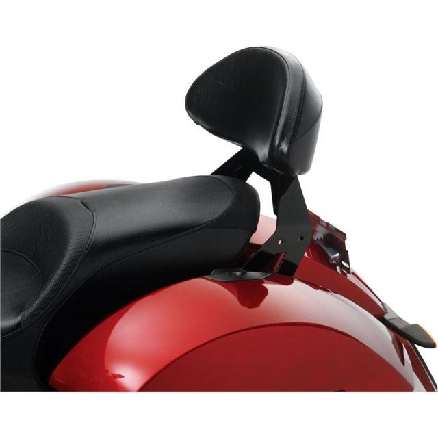 Lock & Ride® Passenger Backrest - Black by Victory