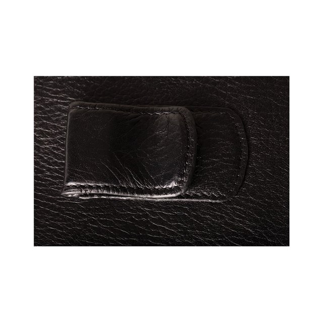 Credit card holder clip wallet by victory motorcycles for Yamaha leather wallet